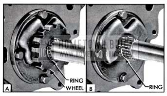 1957 Buick Removing Ratchet Wheel Retaining Ring