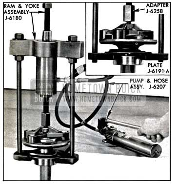 1957 Buick Removing Rear Wheel Bearing