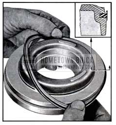 1957 Buick Replacement of Clutch Piston Outer Seal