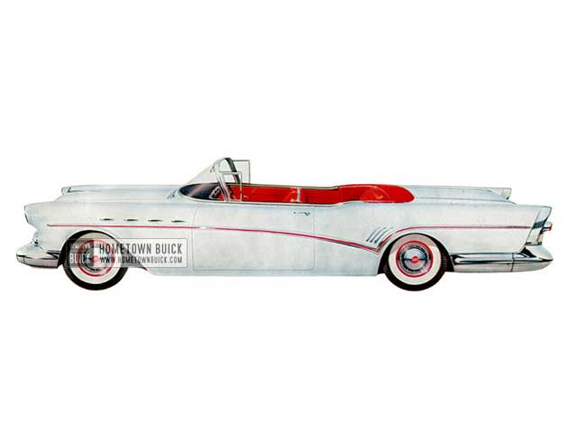 1957 Buick Roadmaster Convertible - Model 76C HB
