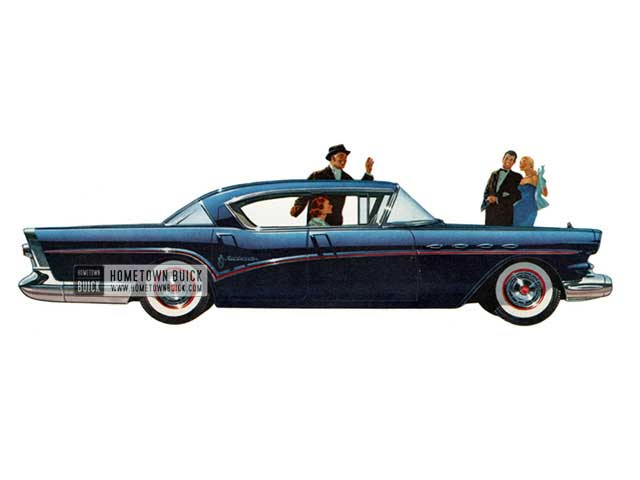 1957 Buick Roadmaster Riviera - Model 73 HB