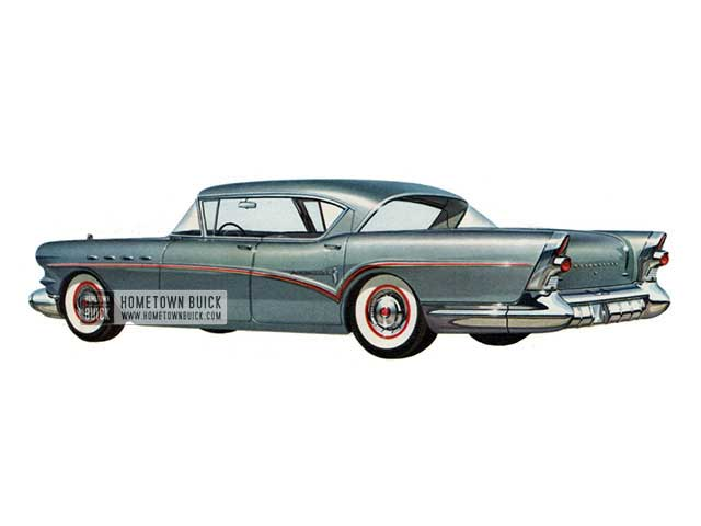 1957 Buick Roadmaster Riviera - Model 73A HB