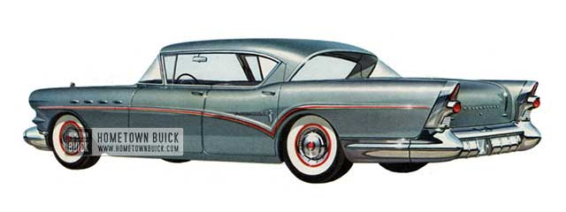 1957 Buick Roadmaster Riviera Sedan - Model 73A