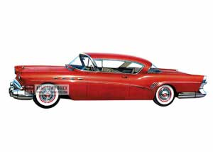 1957 Buick Roadmaster Riviera - Model 76A HB