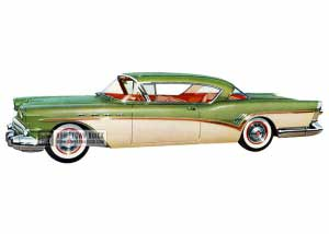 1957 Buick Roadmaster Riviera - Model 76R HB