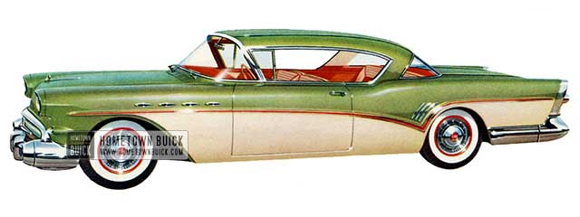 1957 Buick Roadmaster Riviera - Model 76R