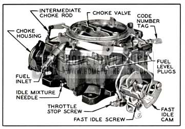 1957 Buick Rochester 4-Barrel Carburetor