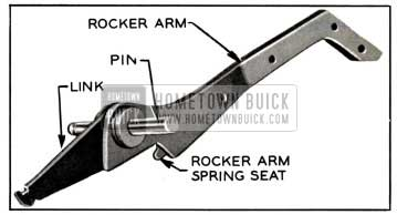 1957 Buick Rocker Arm, Pin, and Link