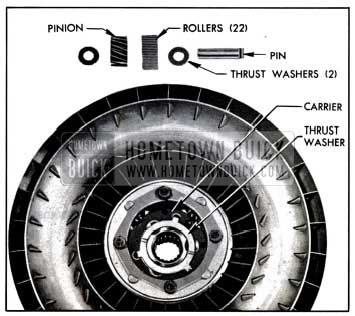 1957 Buick Second Turbine Parts