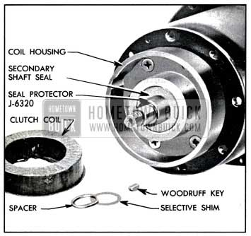1957 Buick Secondary Shaft Seal and Protector