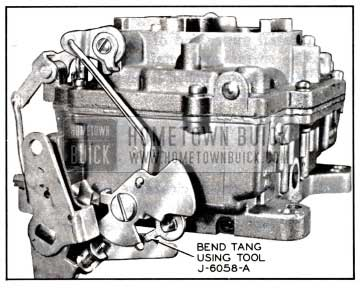 1957 Buick Secondary Throttle Lock-Out Adjustment