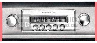 1957 Buick Sonomatic Radio