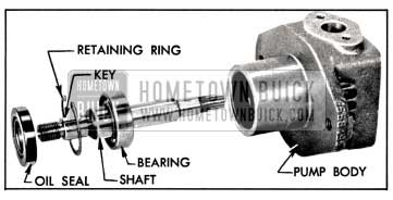 1957 Buick Shaft, Bearing and Seal Assembly