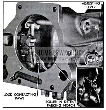 1957 Buick Shift Detent Adjustment