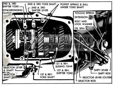 1957 Buick Shift Mechanism In Transmission