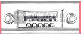1957 Buick Wonderbar Radio