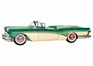 1957 Buick Special Convertible - Model 46C HB