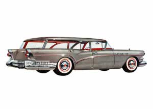 1957 Buick Special Estate Wagon - Model 49 HB