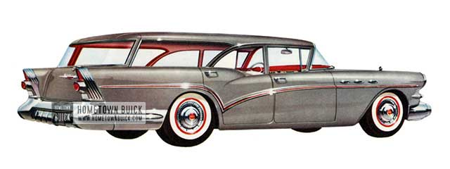 1957 Buick Special Estate Wagon - Model 49