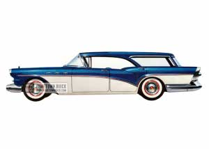 1957 Buick Special Riviera Estate Wagon - Model 49D HB