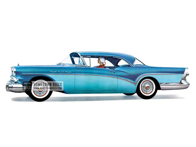 1957 Buick Special Riviera - Model 46R HB