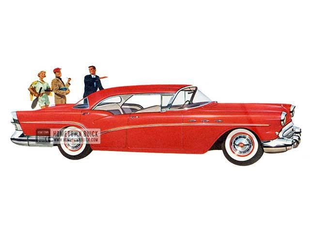 1957 Buick Special Riviera Sedan - Model 43 HB