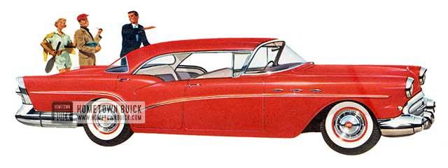 1957 Buick Special Riviera Sedan - Model 43