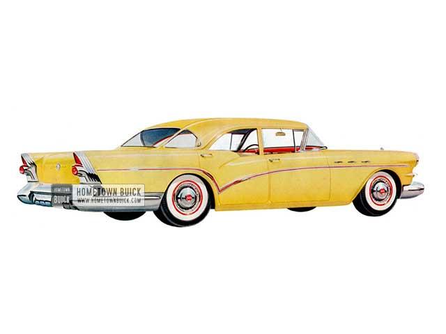 1957 Buick Special Sedan - Model 41 HB