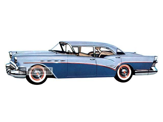 1957 Buick Special Tourback Sedan - Model 61 HB