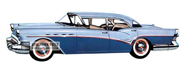 1957 Buick Century Sedan - Model 61