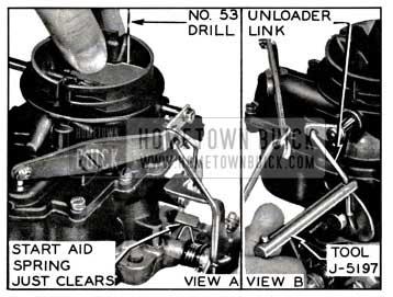 1957 Buick Start Aid Adjustment