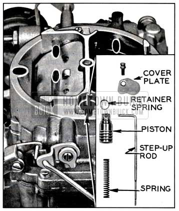 1957 Buick Step-Up Rod and Related Parts