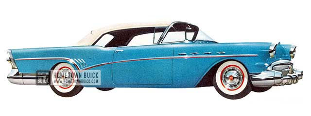 1957 Buick Super Convertible - Model 56C