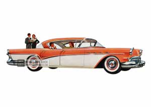 1957 Buick Super Riviera - Model 53 HB
