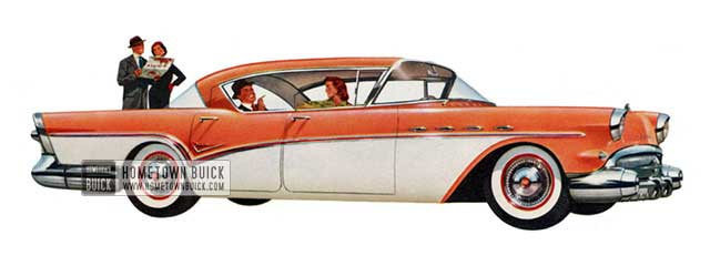 1957 Buick Super Riviera Sedan - Model 53