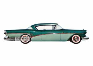 1957 Buick Super Riviera - Model 56R HB