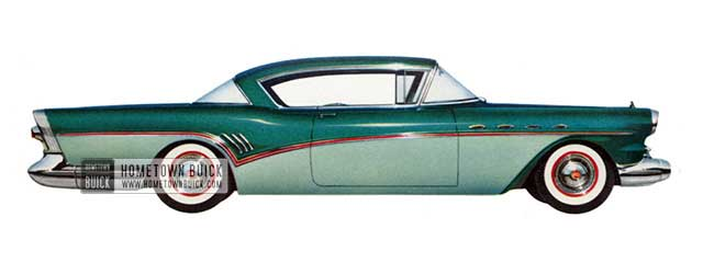 1957 Buick Super Riviera - Model 56R