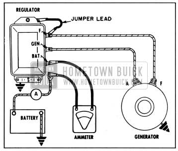 1957 Buick Testing Regulator for Oxidized Points