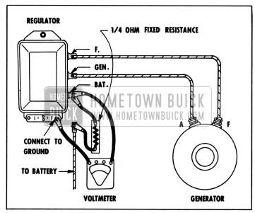 1957 Buick Testing Voltage Regulator