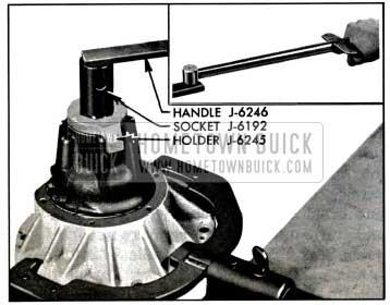 1957 Buick Tightening Pinion Nut