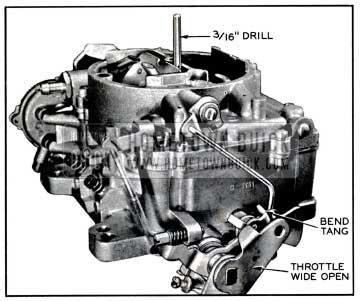 1957 Buick Unloader Adjustment