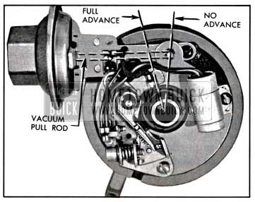 1957 Buick Vacuum Advance Mechanism