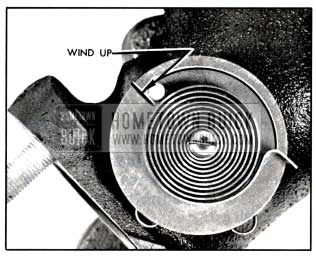 1957 Buick Valve Thermostat Wind-Up