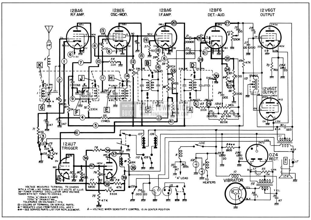 1965 chevy biscayne wiring diagram