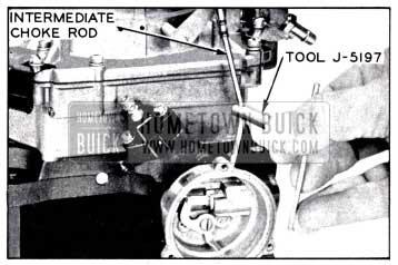 1958 Buick Adjusting Choke Piston