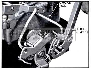 1958 Buick Adjusting Fast Idle Cam