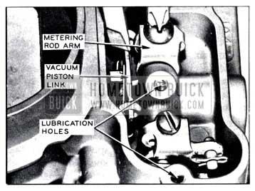 1958 Buick Adjusting Metering Rods