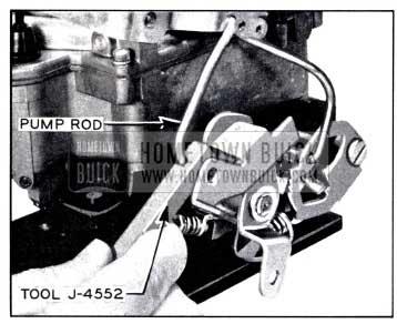1958 Buick Adjusting Pump Plunger