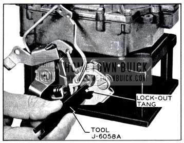 1958 Buick Adjusting Secondary Contour
