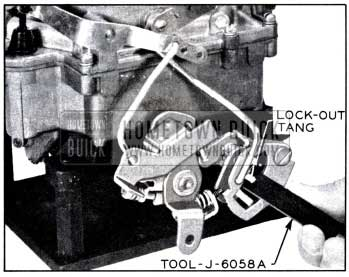 1958 Buick Adjusting Secondary Lock-Out